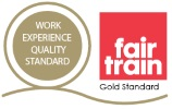 Work Experience Quality Standard and Fair Train Logos